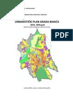 Urbanisticki Plan Grada Bihaca 2010-2030 God