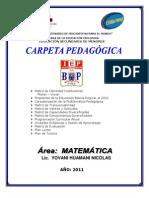 CARPETA PEDAG