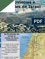 Provincias e Cidades de Israel