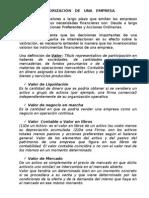 Unid 6 - Valorización de una Empresa
