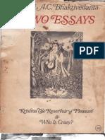 Acbsp Two Essays Original