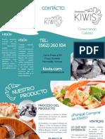 Tríptico - Distribuidora  Kiwis