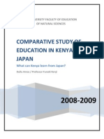 Comparative Study of Education in Kenya and Japan