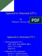 Abnormal LFTs Stevens