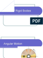 Rotation of rigid body