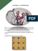 Ragnarok Online 2 - Noel Skill Guide