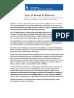La Prensa y El Mensaje de Francisco