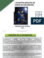 Presentación Curso basico de soldadura MMC-Tocoma 2013