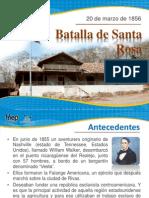 Batalla Santa Rosa20marzo 1856