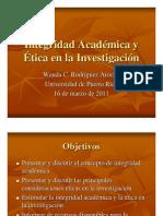 Presentacion Taller Integridad Academica