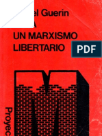 Guérin Daniel - Para un marxismo libertario