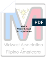 MAFA Winter Retreat Application