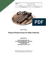 Brunasso_Passive Phased Arrays for Radar Antennas