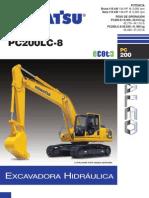Ficha Tecnica Komatsu Pc 200-8 Lc