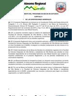 Reglamento Becas Modificado en El Hcf 2013