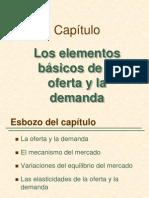 1.Los elementos básicos de la Oferta y la Demanda (Pindyck 2)