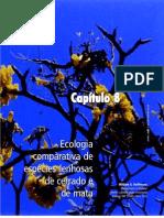 Capítulo 8 - Ecologia comparativa de espécies lenhosas de cerrado e de mata