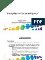Transporte Vertical en Edificacion