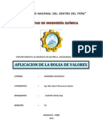 Aplicacion Bolsa de Valores