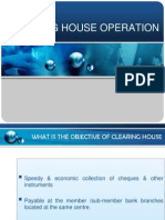 Clearing House Operation