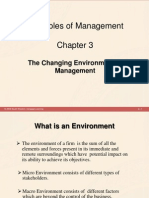 Chapter 3 - The Changing Environment of Management