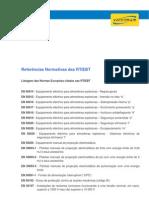 1228650207 Listagem Das Normas Europeias Citadas Nas Rtiebt