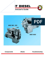 Mercedes MBE4000 workshop manual | Internal Combustion