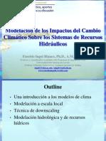 Modelación de los Impactos del Cambio Climático