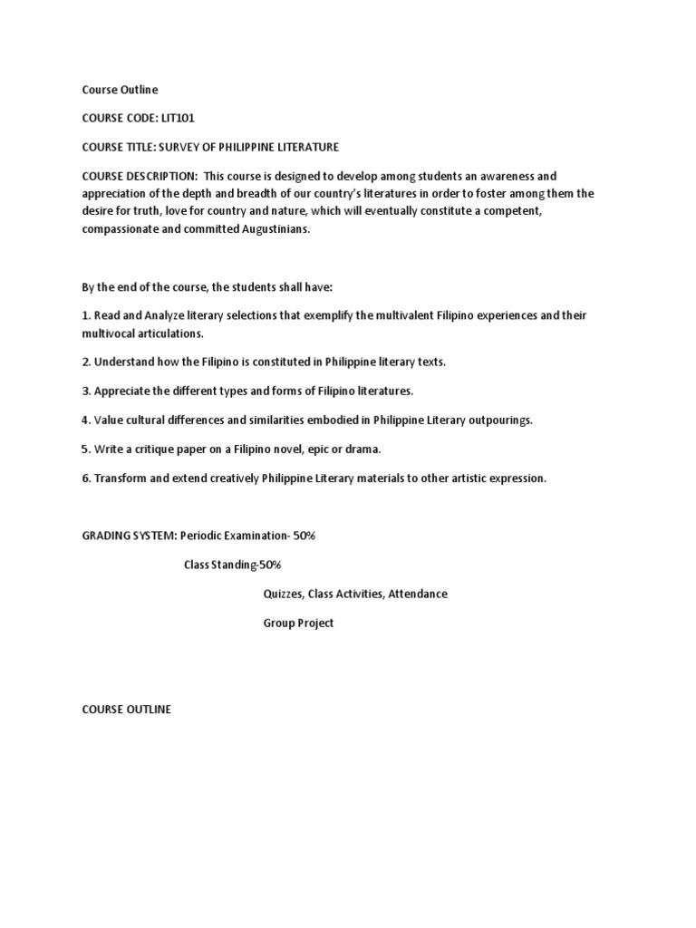 critique essay outline hugh gallagher essay agricultural s course outline test assessment academic dishonesty 1509916651 course outline critique essay outline critique essay outline