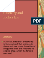 Elasticity and Hookes Law - ppt