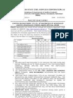 APSCSCL Accountant Asst Gr II III Technical Assts AM Sr Officers Notification 2013, www.6tube.in