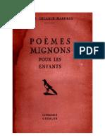 Langue Française Poésies Poèmes Mignons Lucie Delarue Mardrus