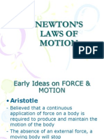 NEWTON'S LAWS OF MOTION - ppt
