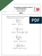 Serie3 Métodos de integración