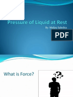 Pressure of Liquid at Rest - ppt