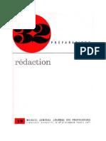 Langue Française Rédactions CM Journal des Professeurs