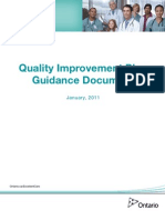 Quality Improvement in a Hospital