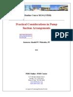 Practical Considerations in Pump Suction Arrangements
