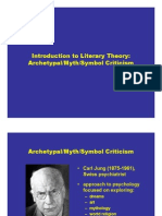 Archetypalcriticism PPT