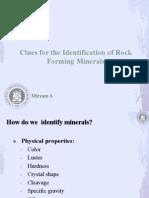 141.Rock Forming Minerals