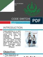 Code Switching (2)