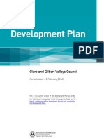 Clare and Gilbert Valleys Council Development Plan
