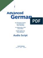 Learn Advanced German