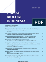 Jurnal Biologi Indonesia