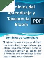 03 Dominios de aprendizaje y taxonomía de Bloom