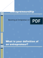 Intra Preneur Ship-ppt