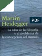 La Idea de La Filosofia (Heidegger)