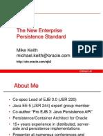 JPA the Enterprise Standard