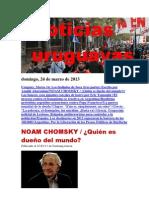 Noticias Uruguayas Domingo 24 de Marzo Del 2013