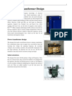 Electronics Transformer Design